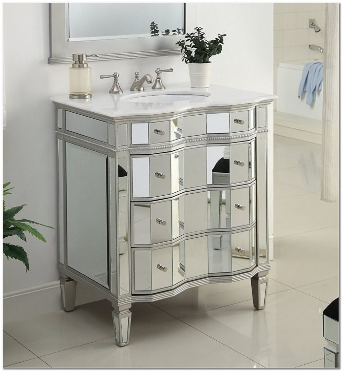 Bathroom Sink Vanity With Mirror