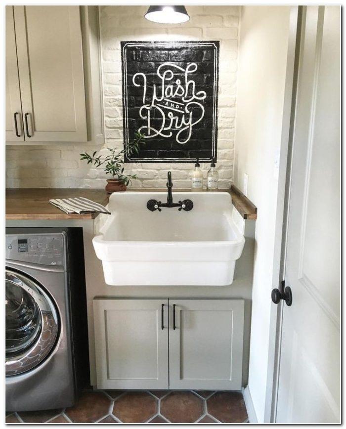 Basement Laundry Sink Sump Pump