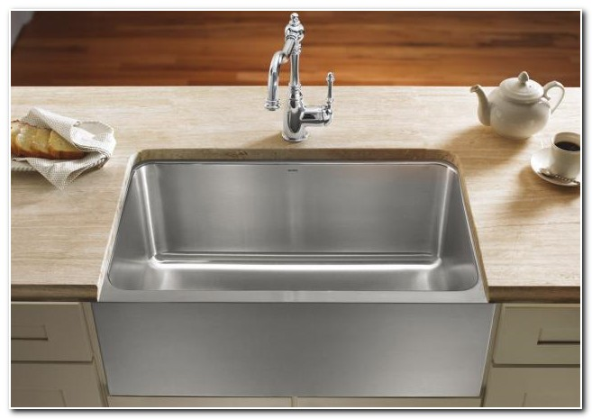 Blanco Sink Protector Stainless Steel Sink And Faucet