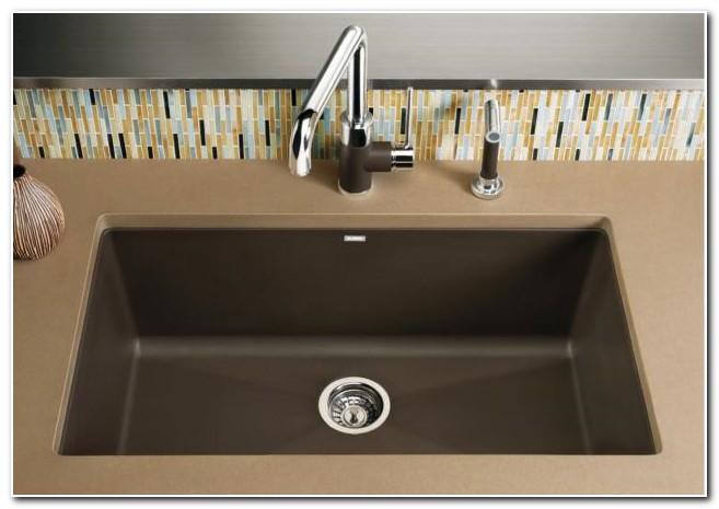 Blanco Silgranit Kitchen Sinks Undermount Sink And