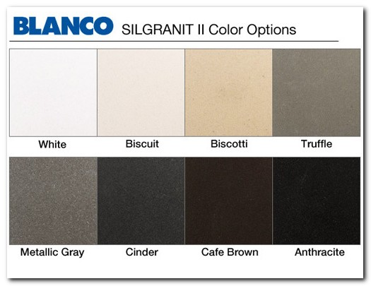 Blanco Silgranit Kitchen Sinks Cleaning Sink And Faucet