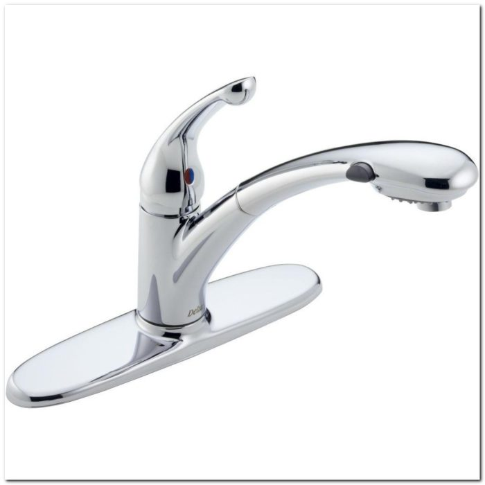 Delta Signature Chrome Kitchen Faucet