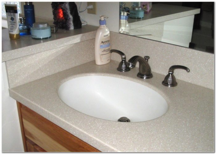 Formica Solid Surface Bathroom Sinks