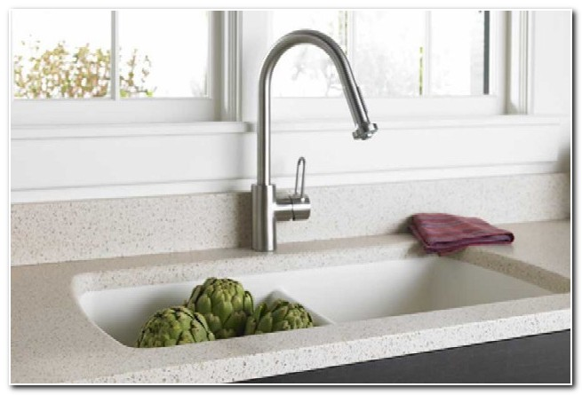 Formica Solid Surface Integrated Sink