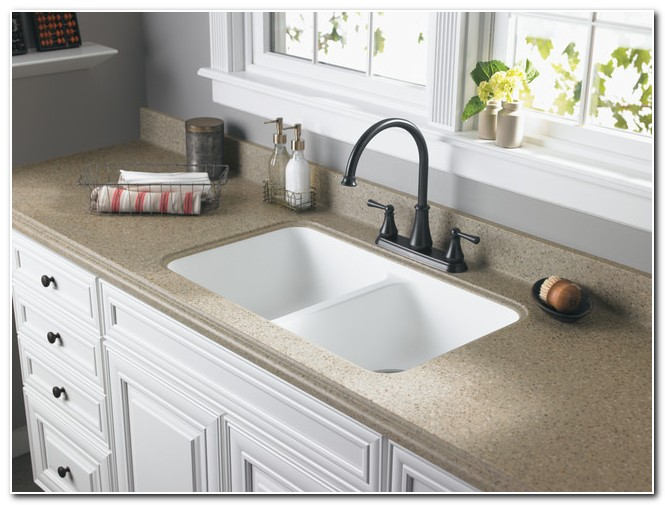 Formica Solid Surface Sink Cleaning