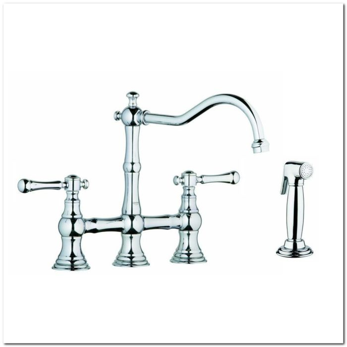 Grohe Bridgeford Kitchen Faucet Chrome