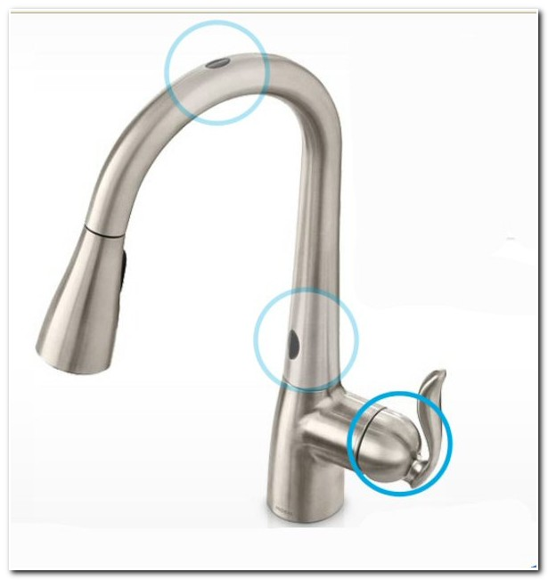 Delta Hands Free Faucet Battery Sink And Faucet Home