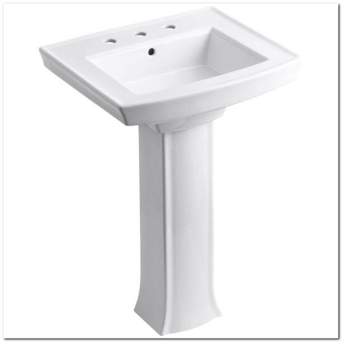 Home Depot Pedestal Sink Hardware