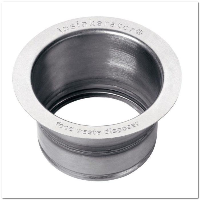 Insinkerator Extended Sink Flange In Stainless Steel