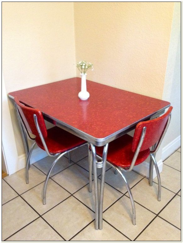 1950s Chrome Kitchen Table And Chairs