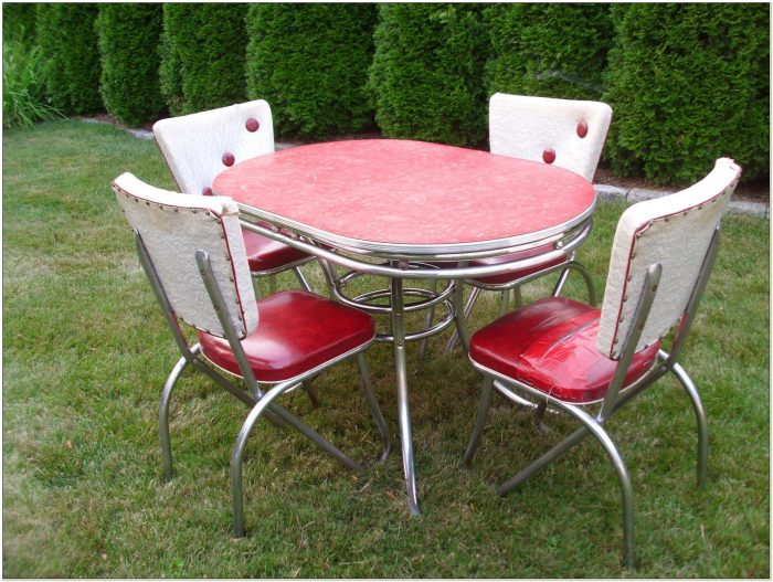 1950s Kitchen Table And Chairs