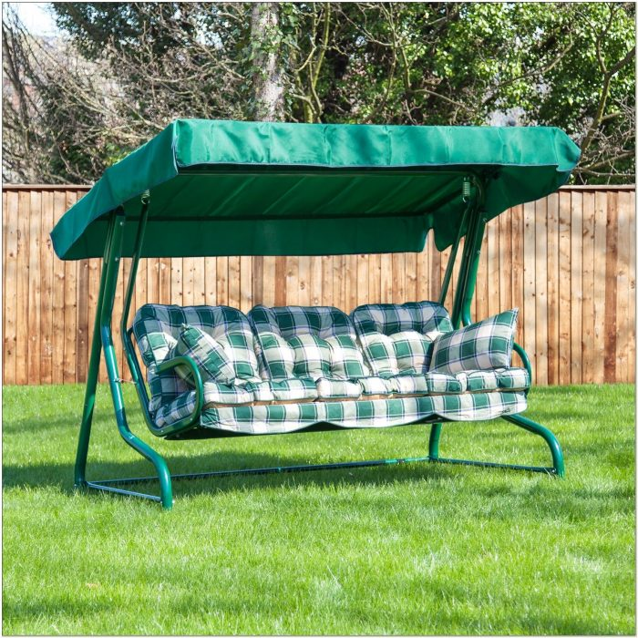 3 Seater Swing Seat Replacement Cushions