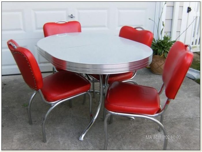 50s Style Kitchen Table And Chairs