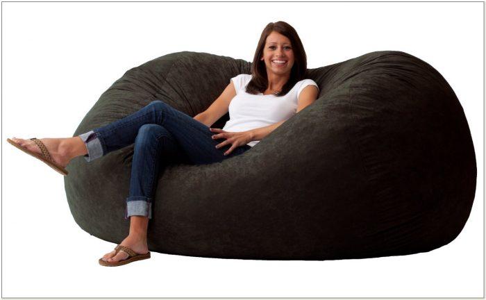 6 Ft Foam Bean Bag Chair