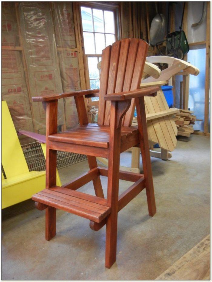 Adirondack Bar Chairs Plans
