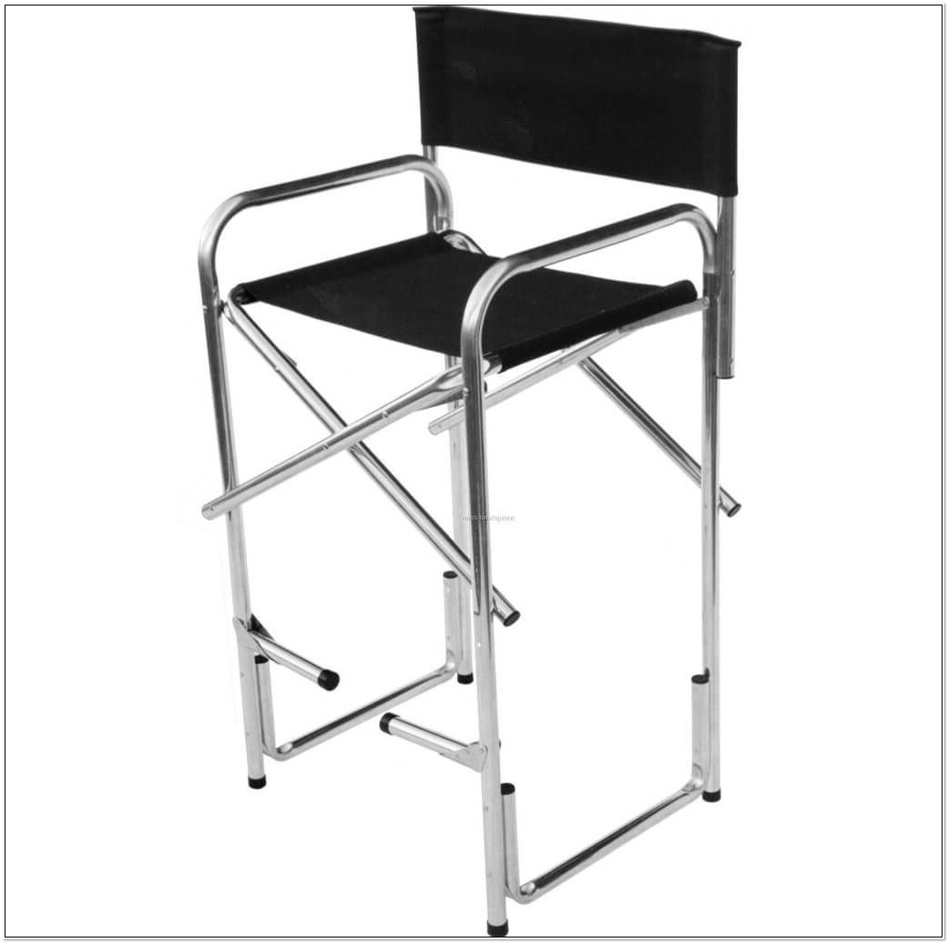 Aluminum Directors Chair Bar Height