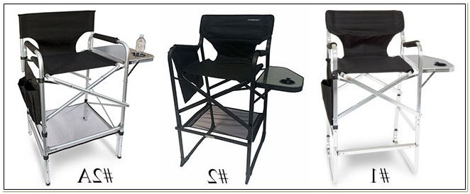 Aluminum Tall Directors Chair