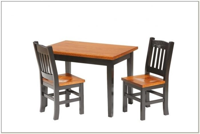 Amish Child Table And Chairs