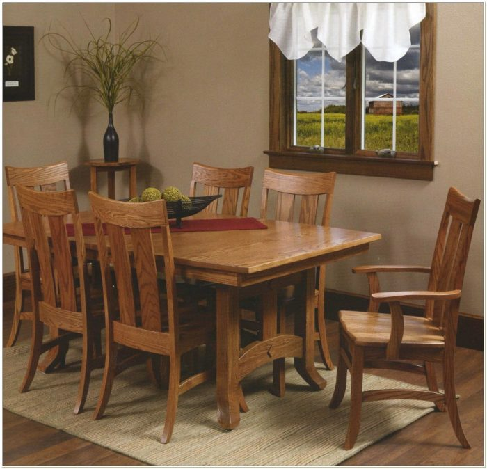 Amish Kitchen Tables And Chairs