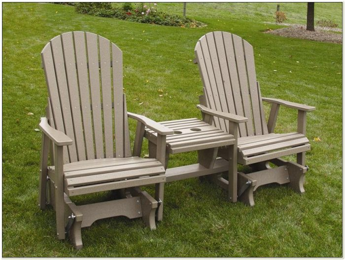 Amish Outdoor Wooden Rocking Chairs