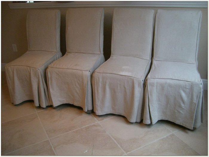 Animal Print Parson Chair Covers