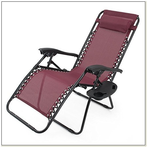 Anti Gravity Chair With Cup Holder