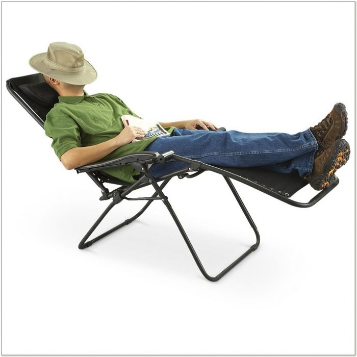 Anti Gravity Reclining Lawn Chair