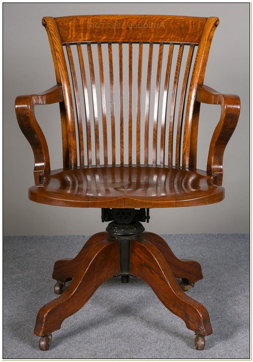 Antique Desk Chairs Swivel