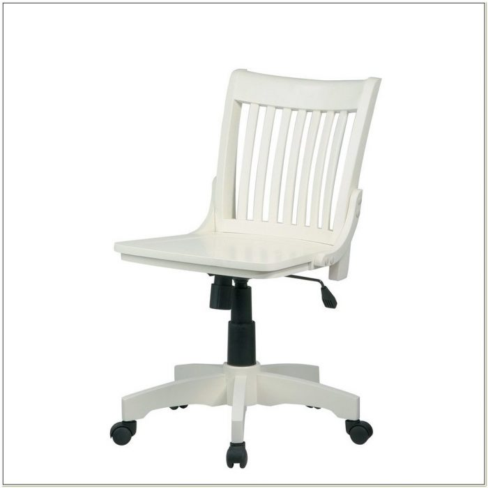 Sensational Antique White Bankers Chair With Arms Chairs Home Machost Co Dining Chair Design Ideas Machostcouk