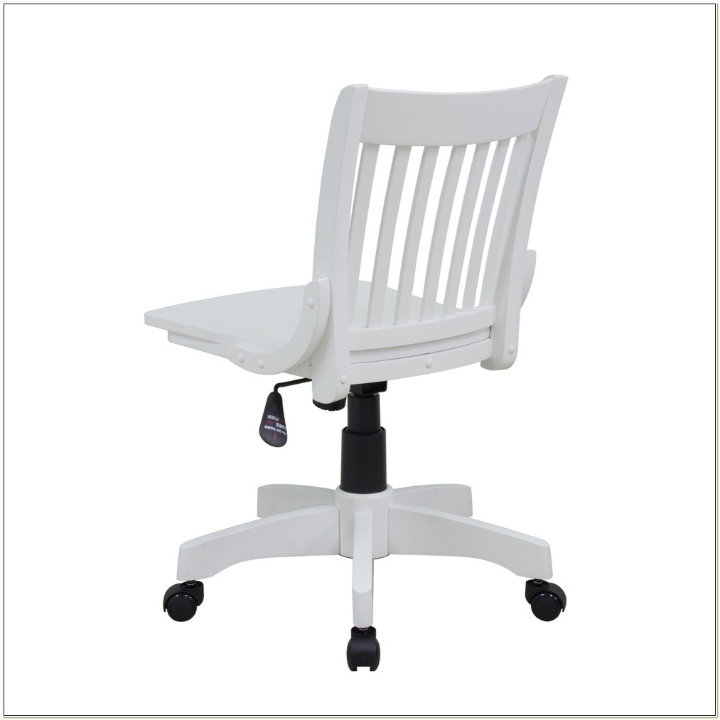 Admirable Antique White Wood Bankers Chair Chairs Home Decorating Machost Co Dining Chair Design Ideas Machostcouk
