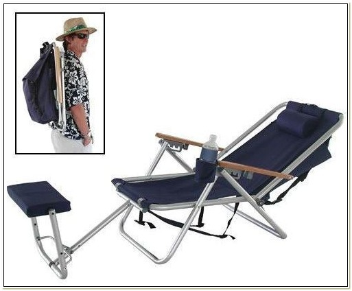 Backpack Chair With Footrest