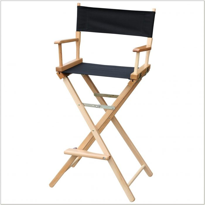Bar Height Folding Directors Chair