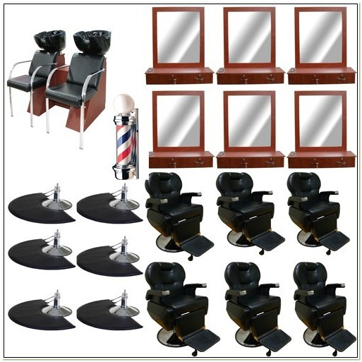 Barber Chair And Station Packages