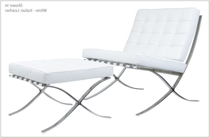 Barcelona Chair And Ottoman Reproduction