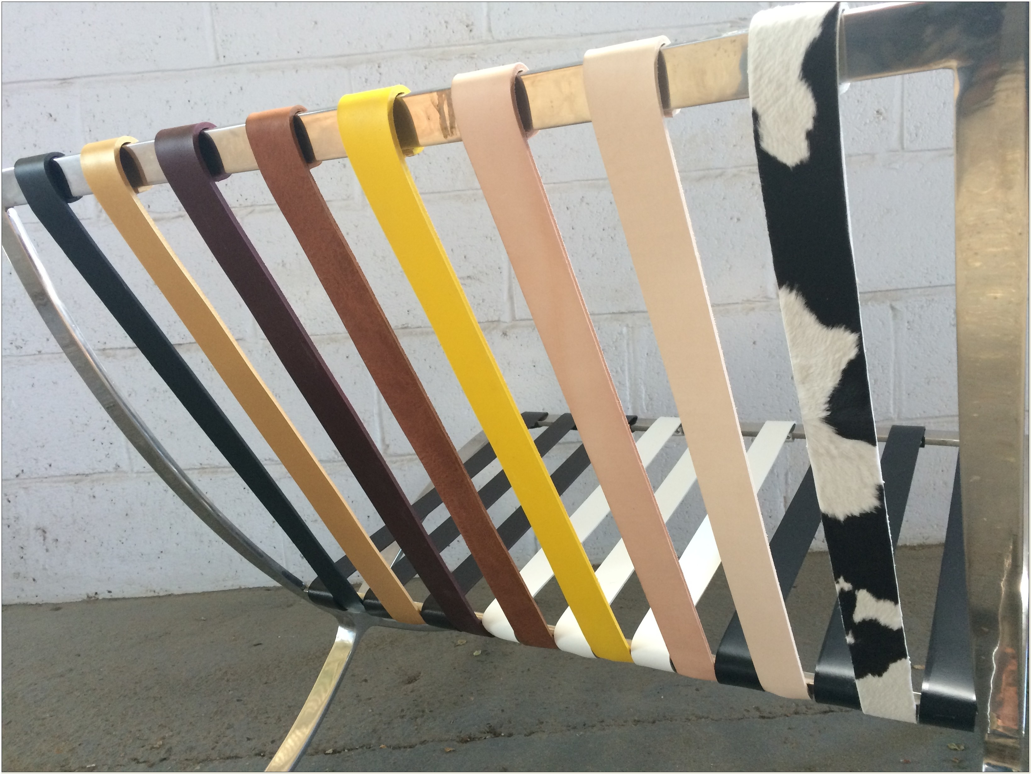 Barcelona Chair Replacement Straps
