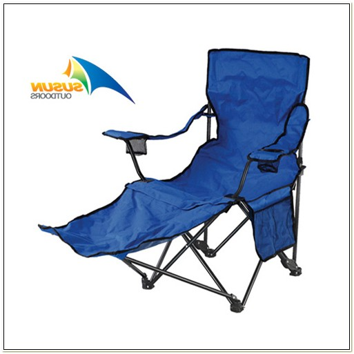 Beach Chair With Footrest And Canopy