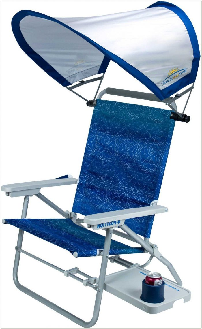 Beach Chair With Sunshade