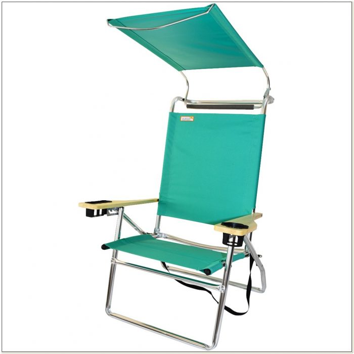 Beach Chair With Visor