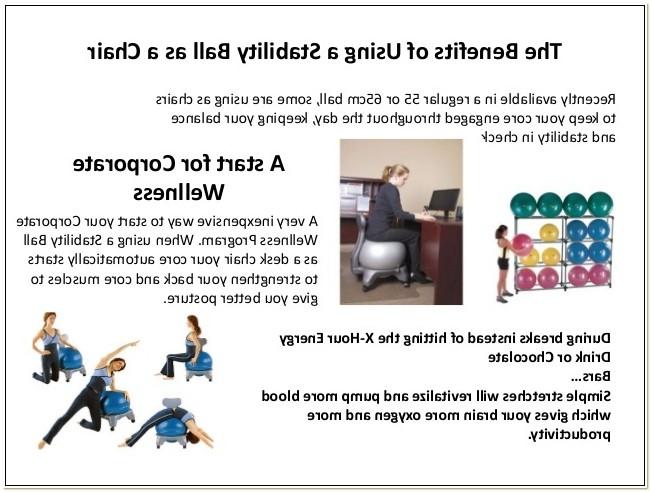 Benefits Of Balance Ball Chair