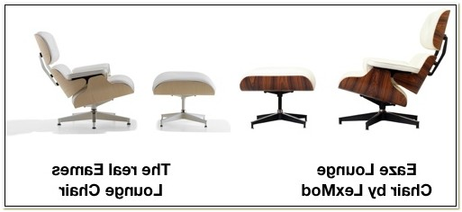 Best Knock Off Eames Lounge Chair