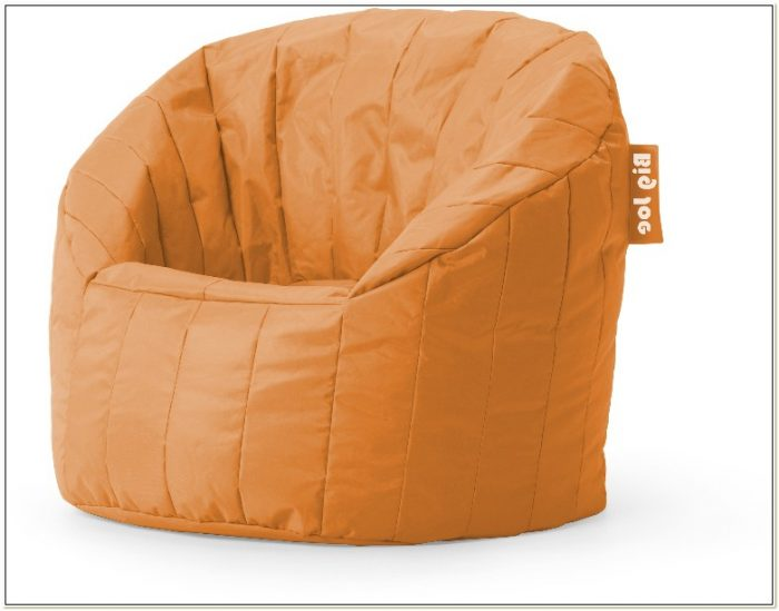 Big Joe Bean Bag Chair Orange