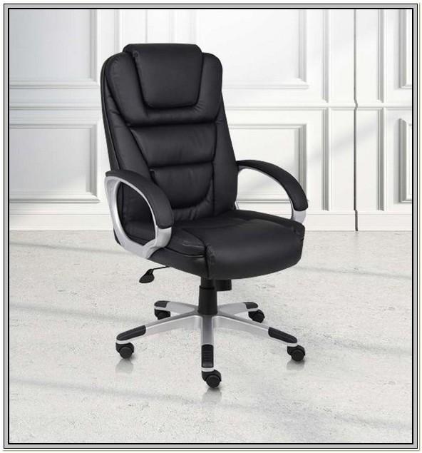 Boss Black Leatherplus Executive Chair Manual