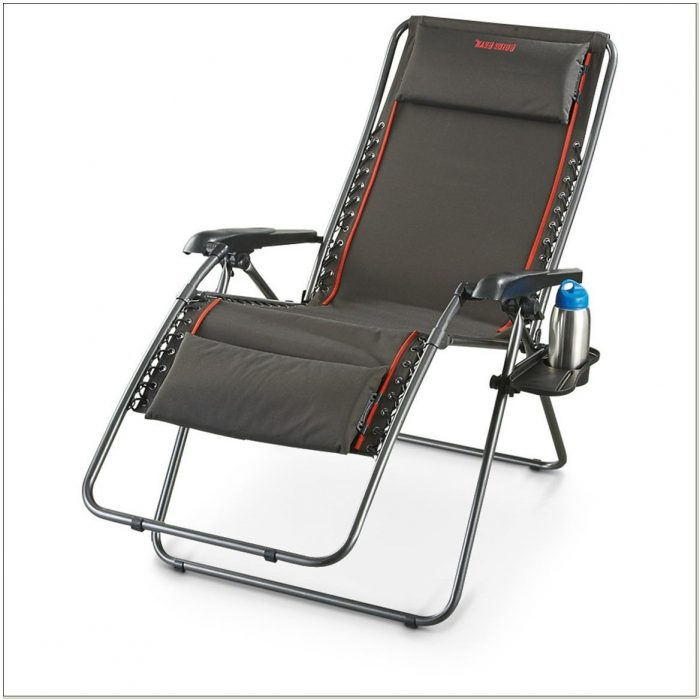 Camo Zero Gravity Chair With Cup Holder