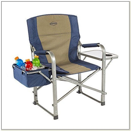 Camping Chair With Side Cooler