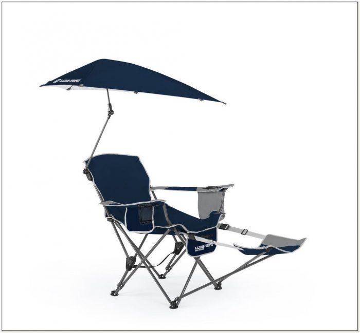 Camping Chair With Umbrella Holder