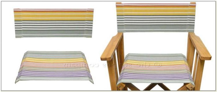 Canvas Director Chair Seat Covers