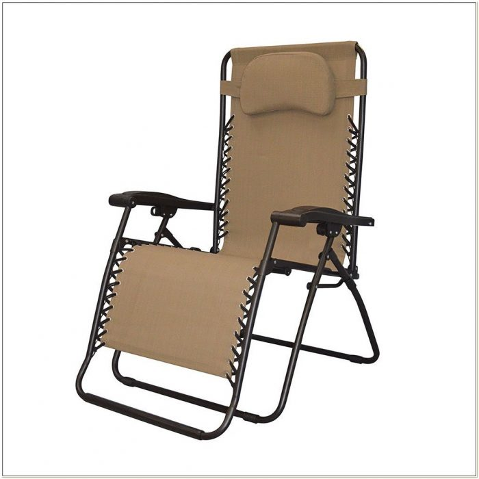 Caravan Canopy Oversize Zero Gravity Chair Beige