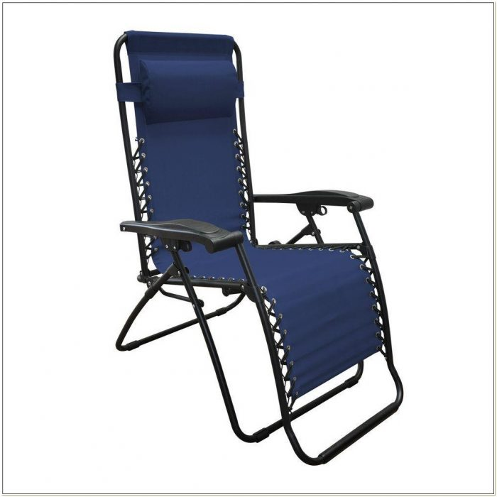 Caravan Zero Gravity Chair Blue