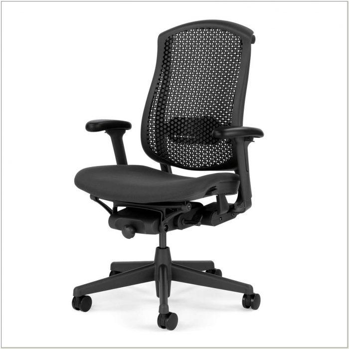 Celle Chair In Black By Herman Miller