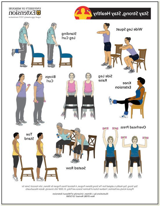 Chair Exercise For Seniors Pdf